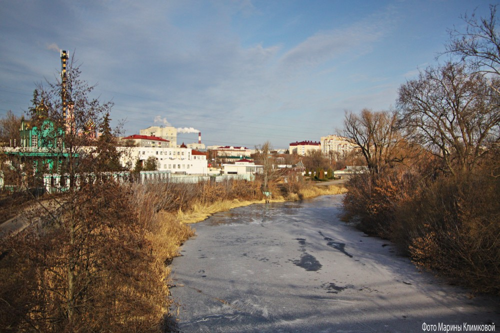 На Цне. Тамбов. Фото 1 декабря 2020 года