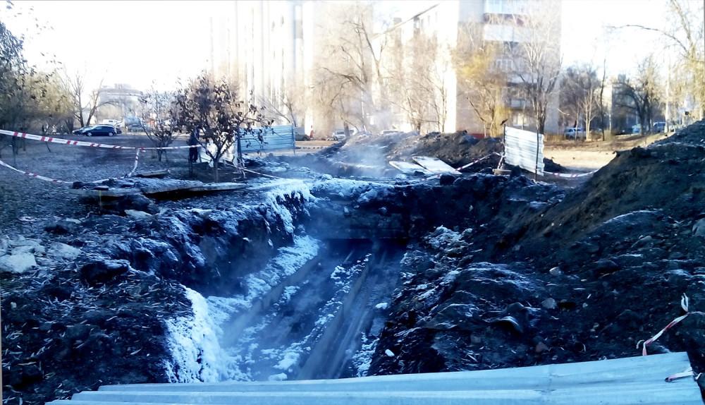 Студенецкая набережная. Тамбов. Фото 6 декабря 2020 года