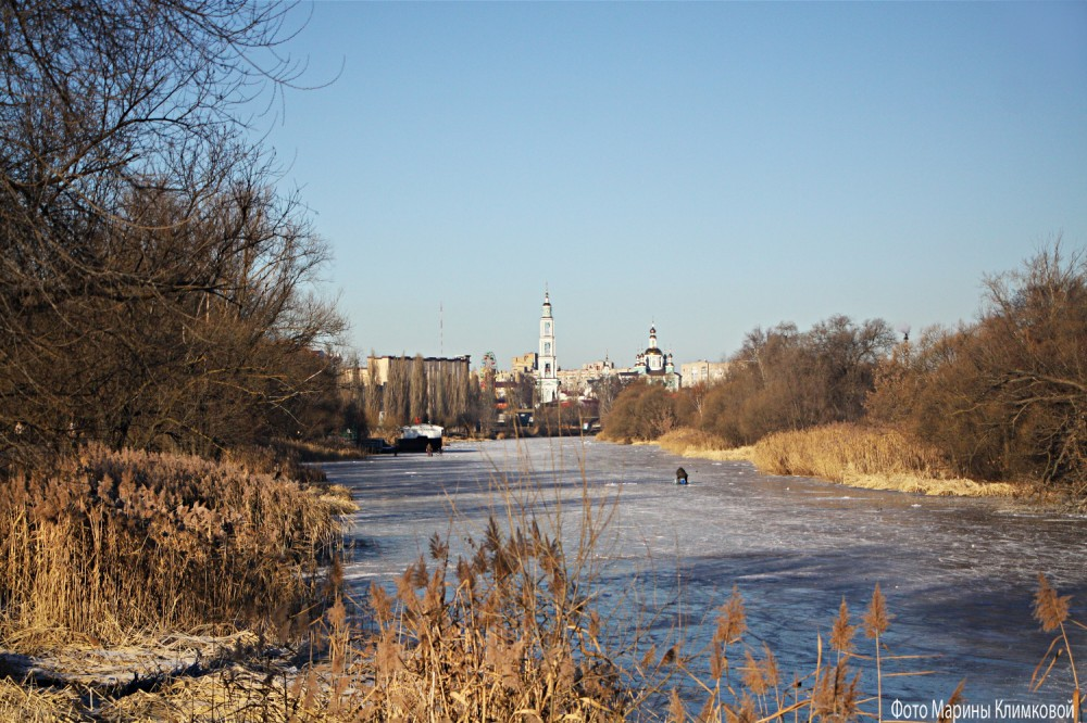 На Цне. Тамбов. Фото 9 декабря 2020 года
