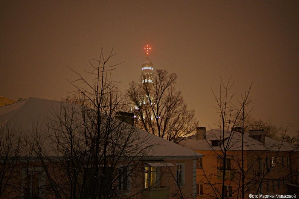 Вид из окна. Фото 15 декабря 2020 года