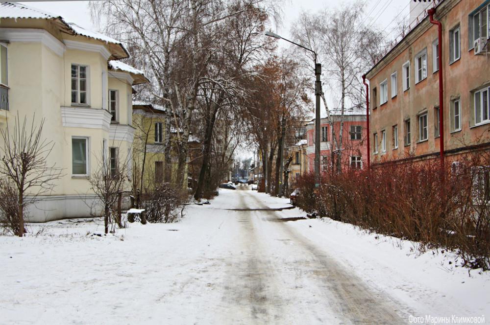 Улица Б. Федорова. Тамбов