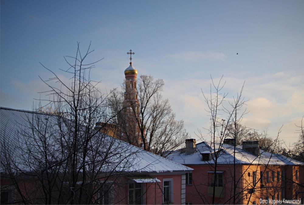 Вид из окна. Тамбов. Фото 23 декабря 2020 года