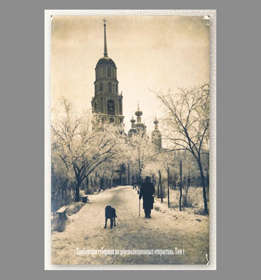 Тамбов. Казанский сквер. Аллея. Начало ХХ века