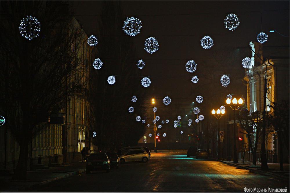 Тамбов. Улица Коммунальная. Фото 7 января 2021 года