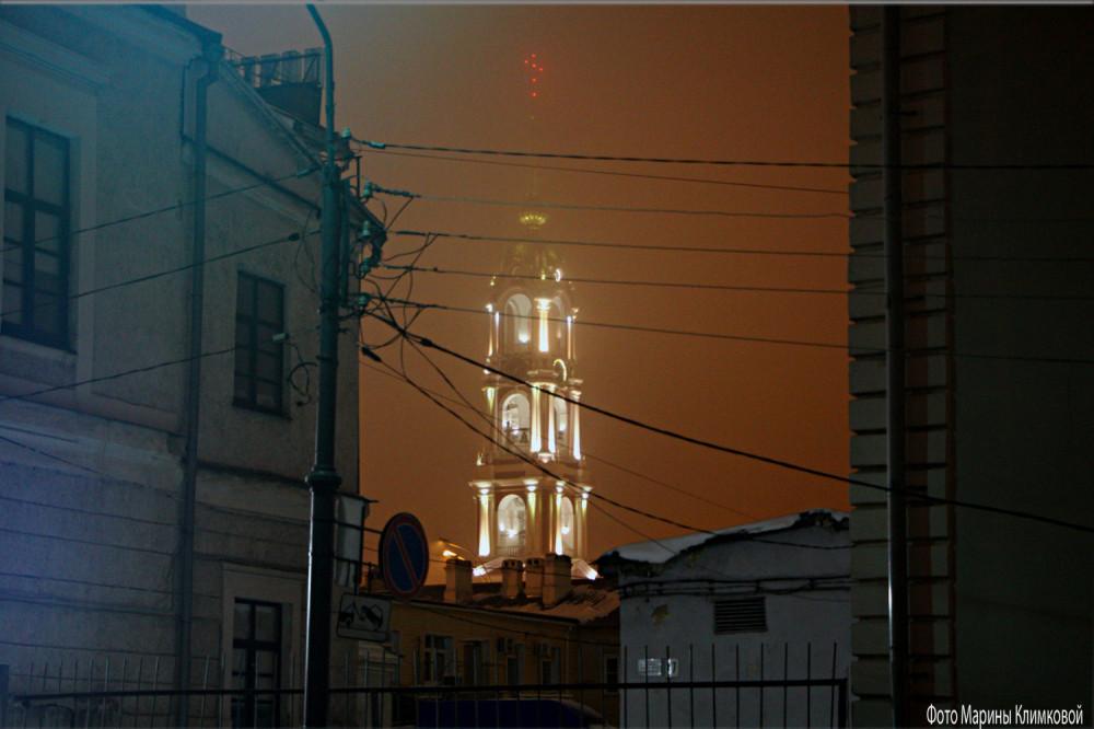 Тамбов. Фото 7 января 2021 года