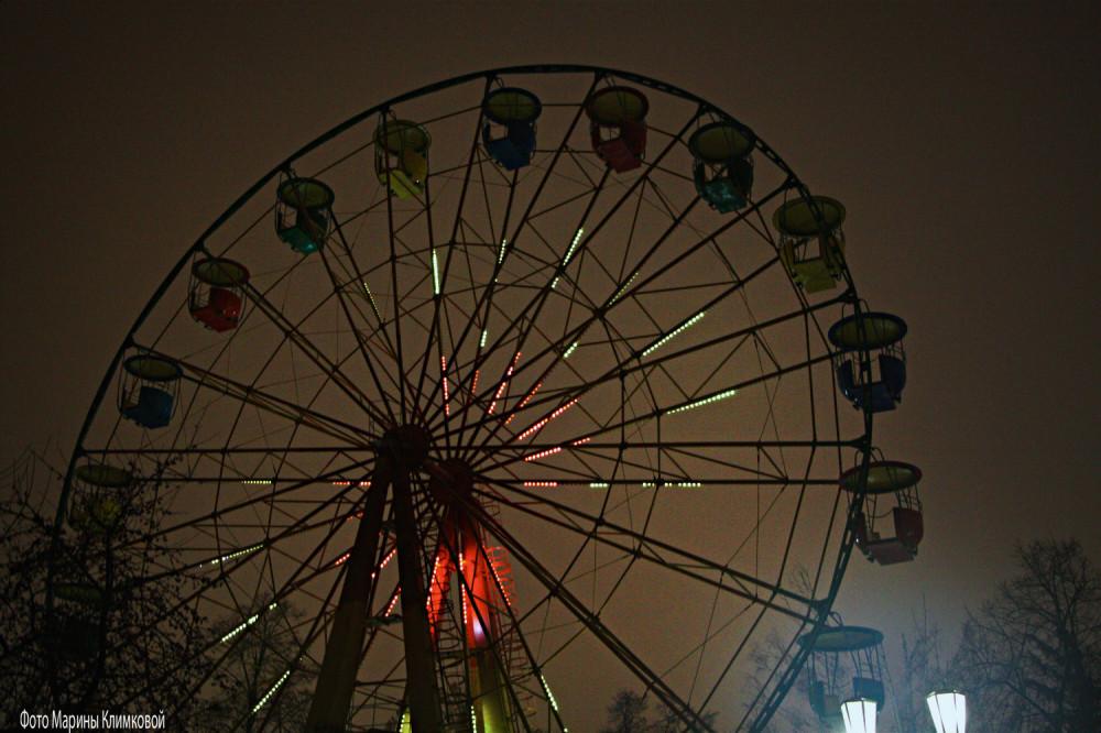 Тамбов. Городской парк. Фото 7 января 2021 года
