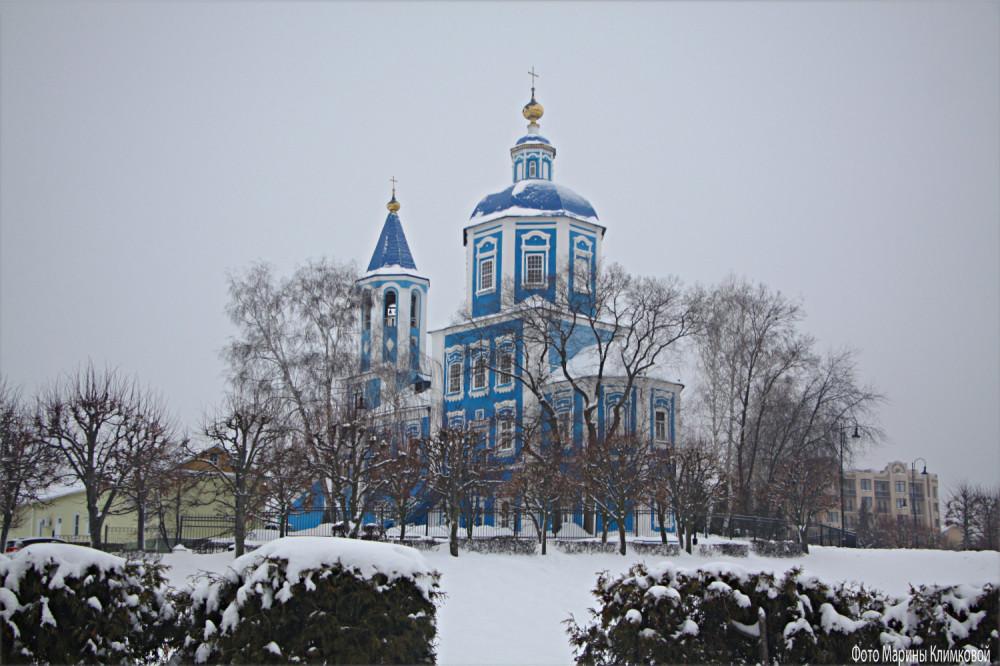 Покровская церковь. Тамбов. Фото 22 января 2021 года