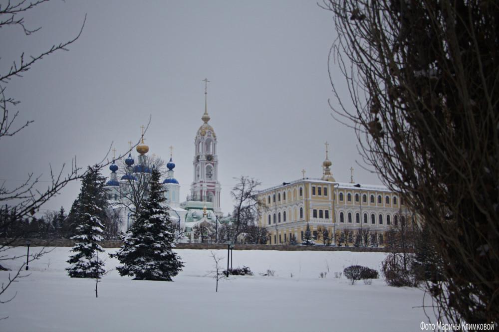 Казанский монастырь. Тамбов. Фото 22 января 2021 года