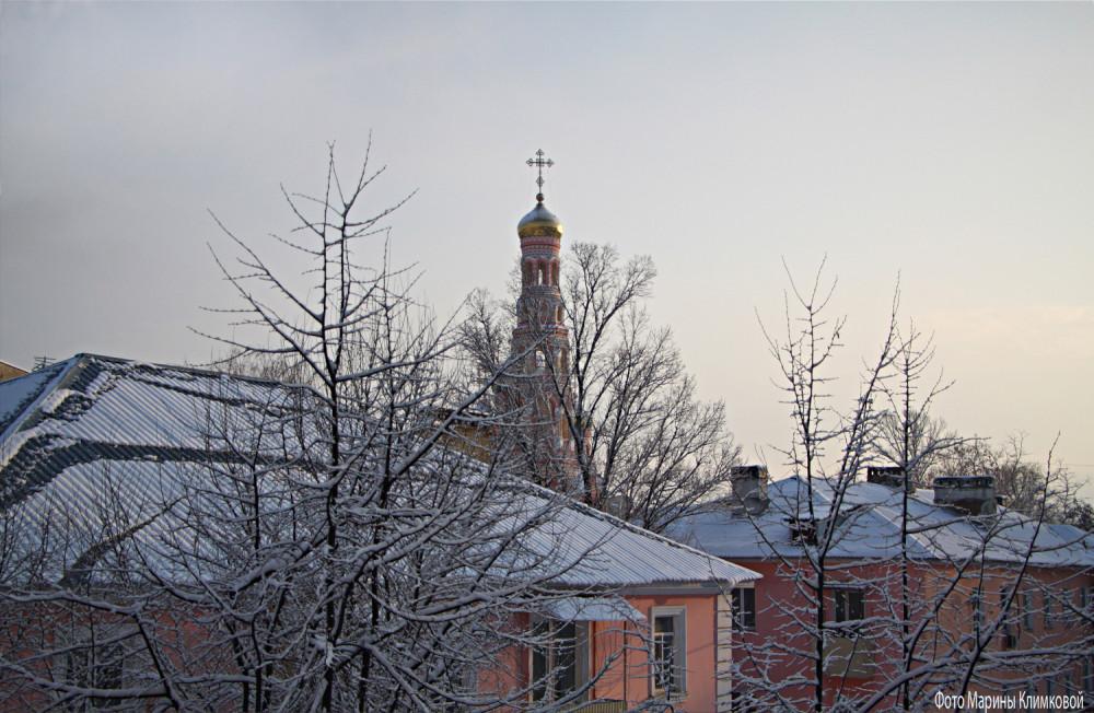 Вид из окна. Тамбов. 30 января 2021 года