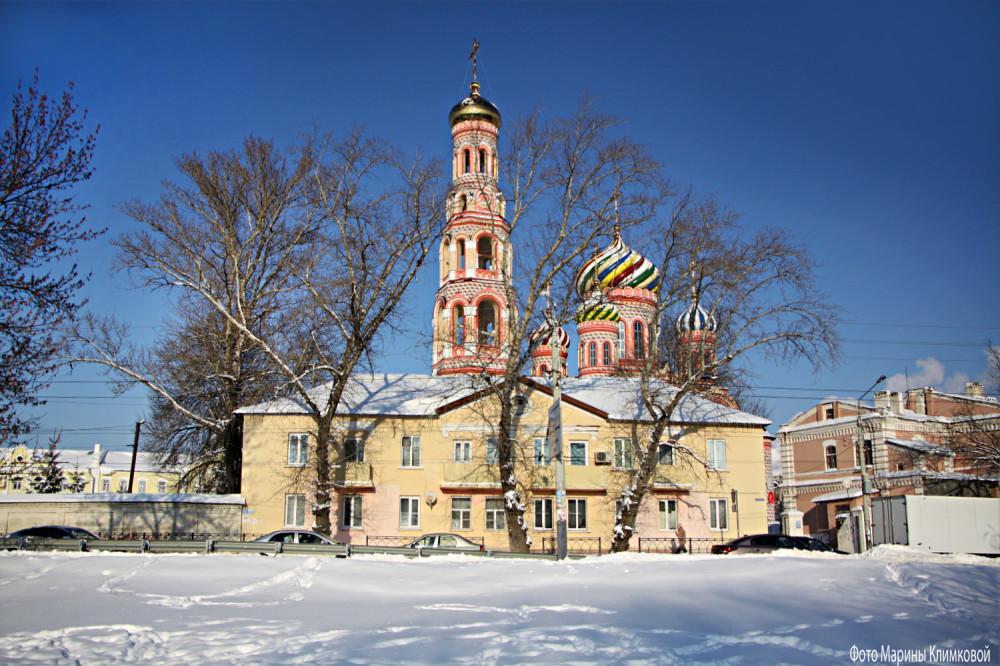 Тамбовский Вознесенский монастырь. Фото 17 января 2021 года