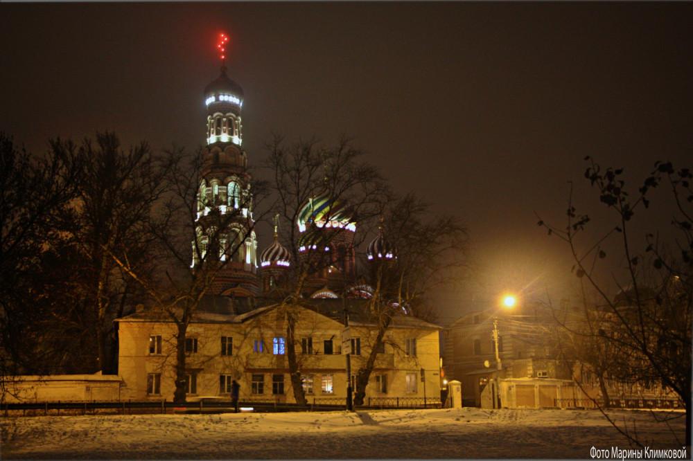 Тамбов. Вознесенский женский монастырь. Фото 7 января 2021 года