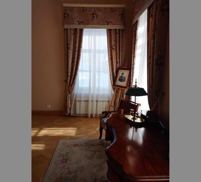 Интерьер музея Е.А. Боратынского в Казани. Фото отсюда: https://www.facebook.com/groups/1762666090673852