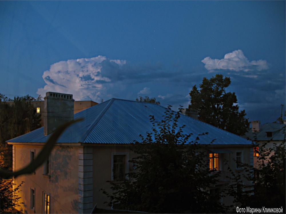 Вид из моего окна. Тамбов. Фото 20 июля 2011 года