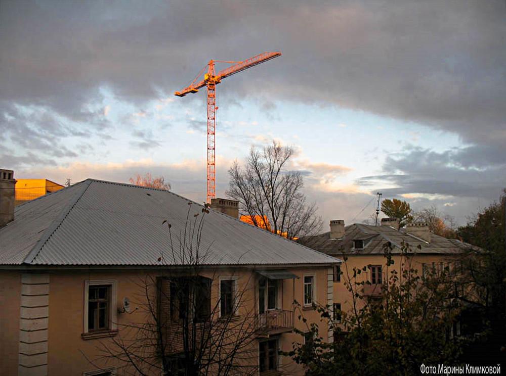 Вид из моего окна. Тамбов. 13 октября 2011 года