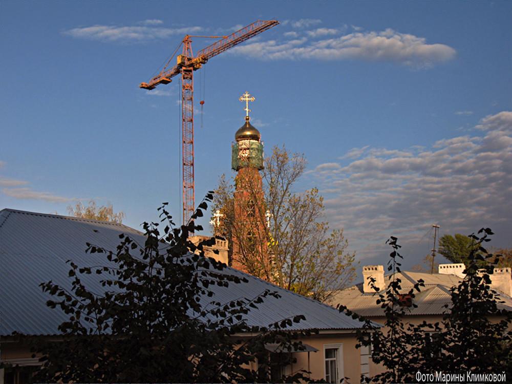 Вид из моего окна. Тамбов. 21 сентября 2012 года