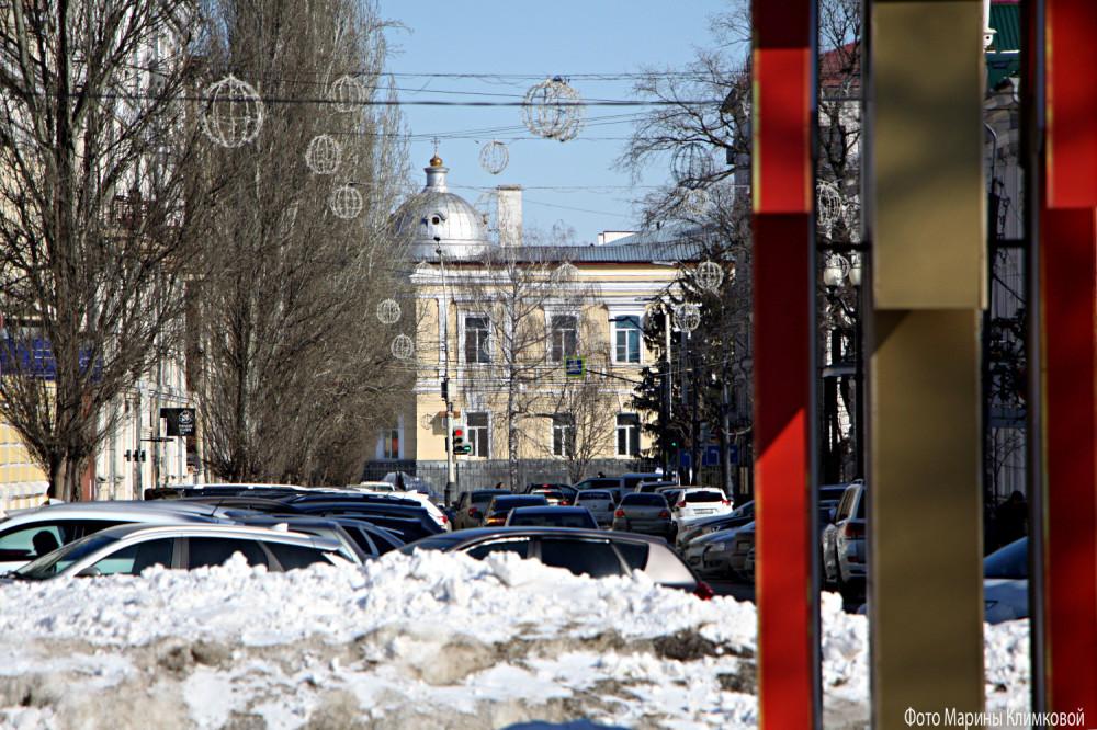 Тамбов. Улица Коммунальная. Фото 11 марта 2021 года