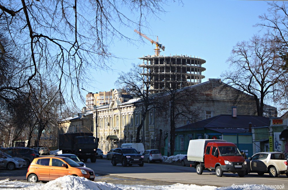 Тамбов. Улица Мичуринская. Фото 11 марта 2021 года
