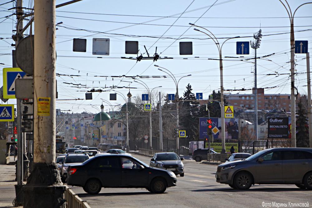 Тамбов. Улица Советская. Фото 11 марта 2021 года