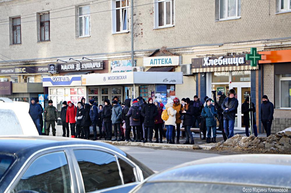 Тамбов. Улица Московская. Фото 11 марта 2021 года