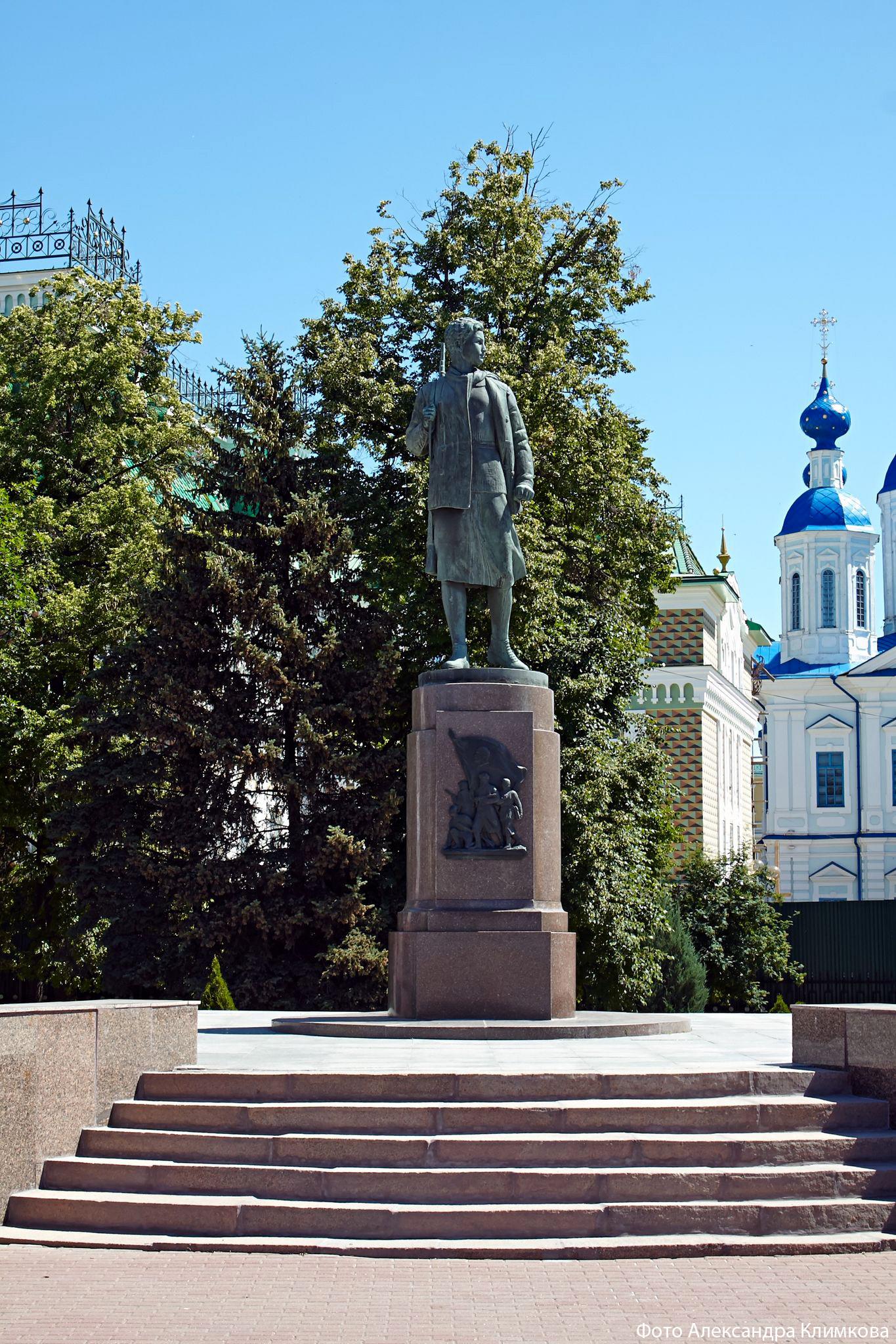 М.Г. Манизер. Памятник Зое Космодемьянской. Тамбов. Фото 2019 года