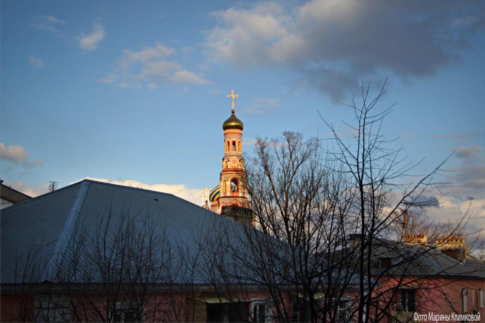 Вид из окна. Тамбов. Фото 21 марта 2021 года
