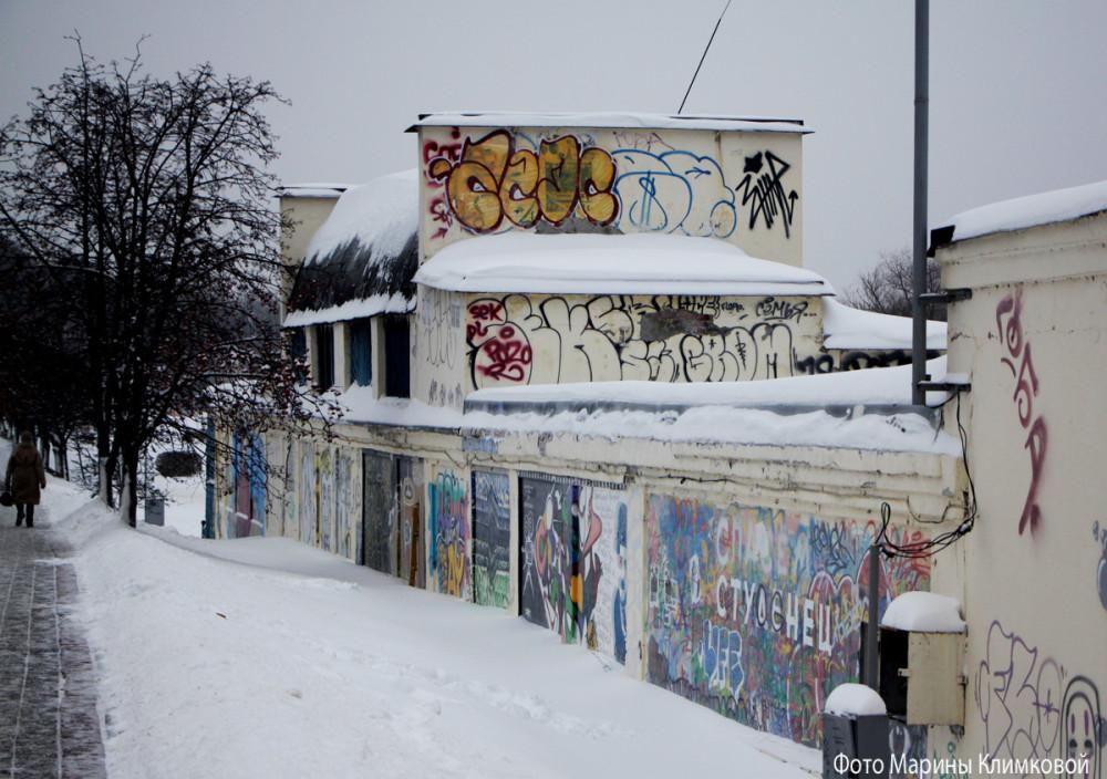 Здание бывшей кислородной станции. Тамбов. Фото 22 января 2021 года