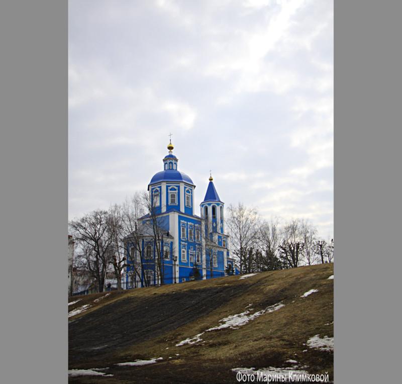 Покровская церковь. Тамбов. Фото 1 апреля 2021 года