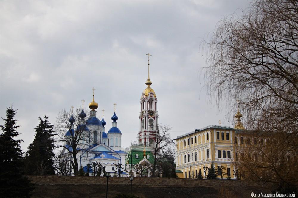 Казанский мужской монастырь. Тамбов. Фото 1 апреля 2021 года