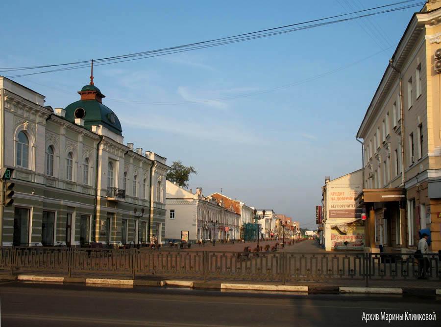 Тамбов. Улица Коммунальная. Фото 7 августа 2013 года