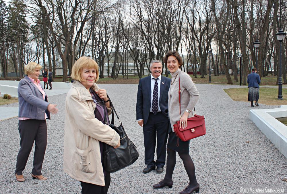 Около асеевского особняка. Тамбов. Фото 28 апреля 2015 года