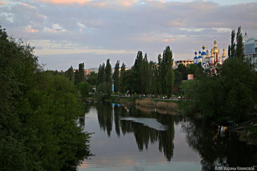 Река Цна. Тамбов. Фото 18 мая 2021 года