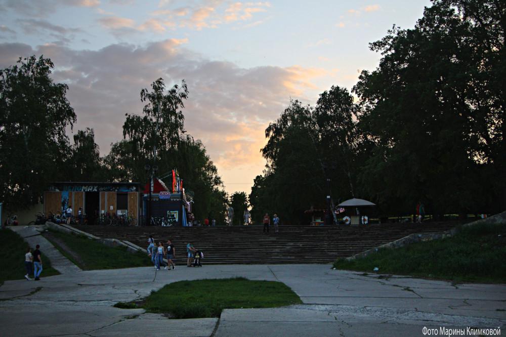 Городской парк. Тамбов. Фото 18 мая 2021 года