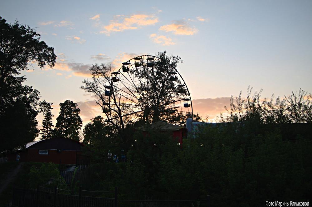 Городкой парк. Фото 18 мая 2021 года