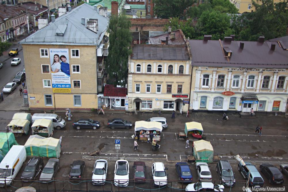 Тамбов. Улица Коммунальная. Фото 5 мая 2021 года
