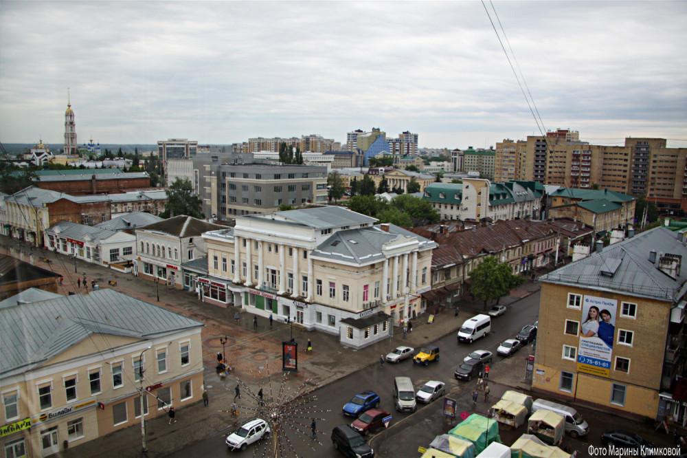 Тамбов. Пересечение улиц Коммунальной и Носовской. Фото 5 мая 2021 года