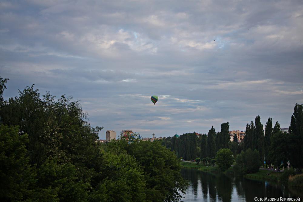 Воздушный шар над Тамбовом. Фото 6 июня 2021 года