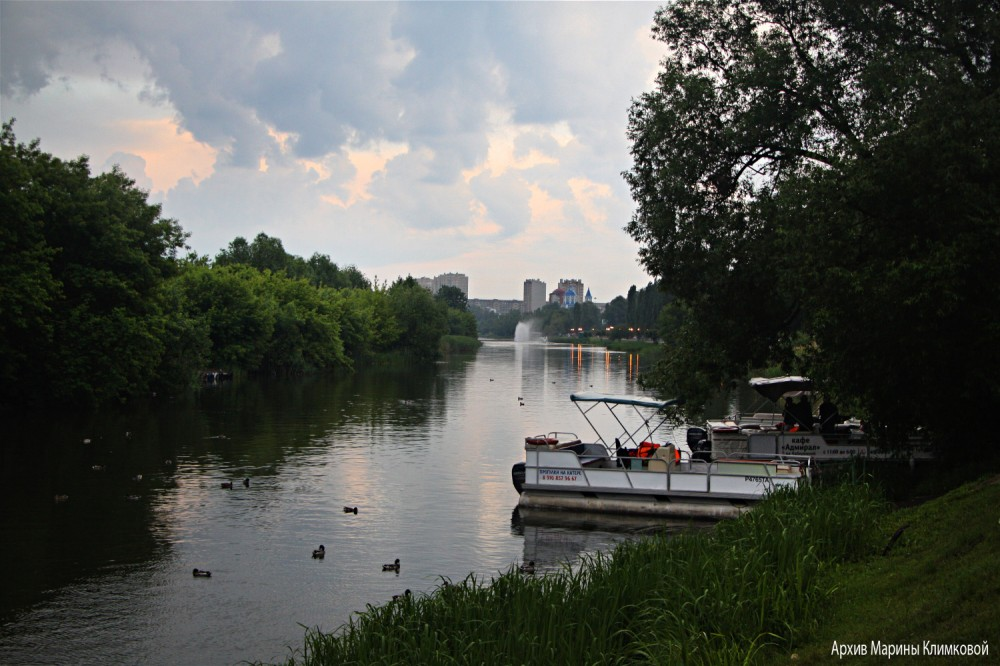 Река Цна. Тамбов. Набережная. Фото 13 июня 2021 года