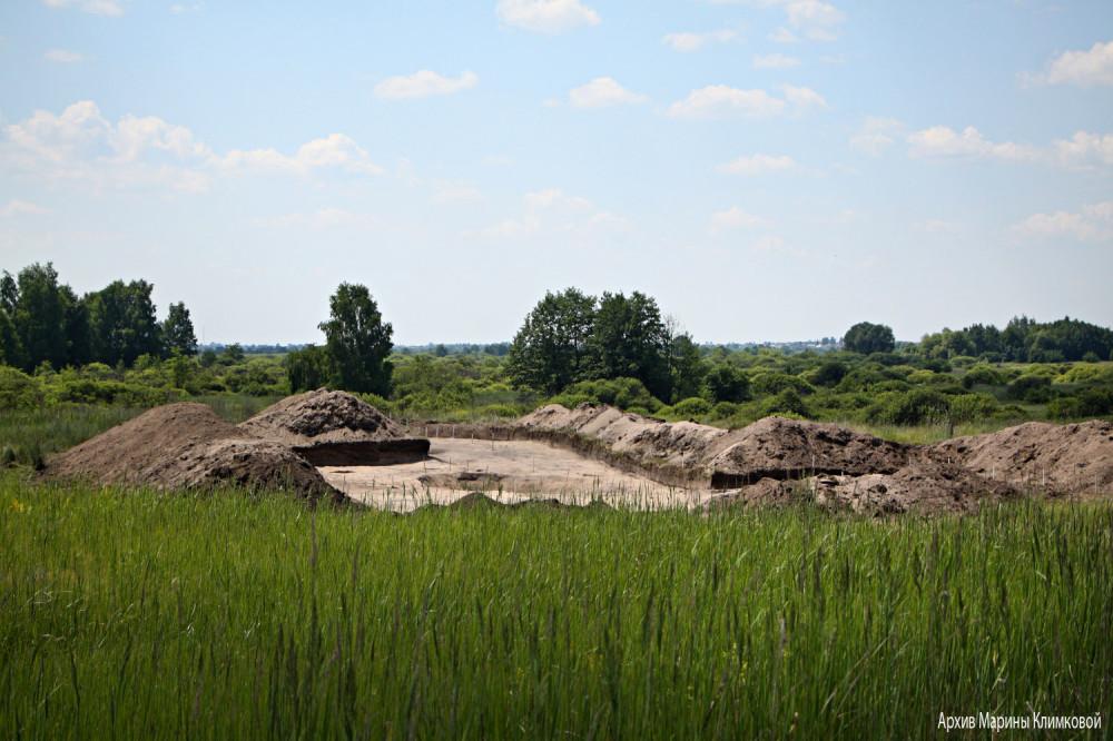 Раскопки в Тихом Углу. Фото 24 июня 2021 года