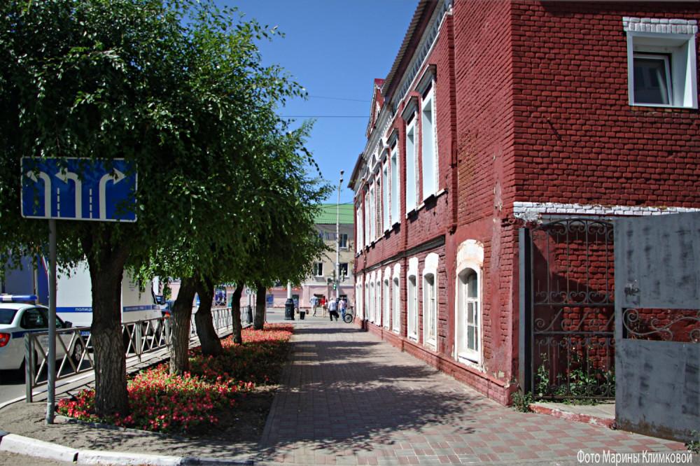 Тамбов. Перекресток улиц Советской и Ст. Разина