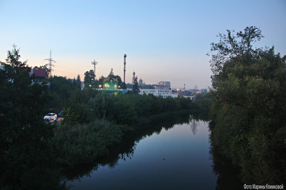Тамбов. Река Цна. Фото 11 сентября 2021 года