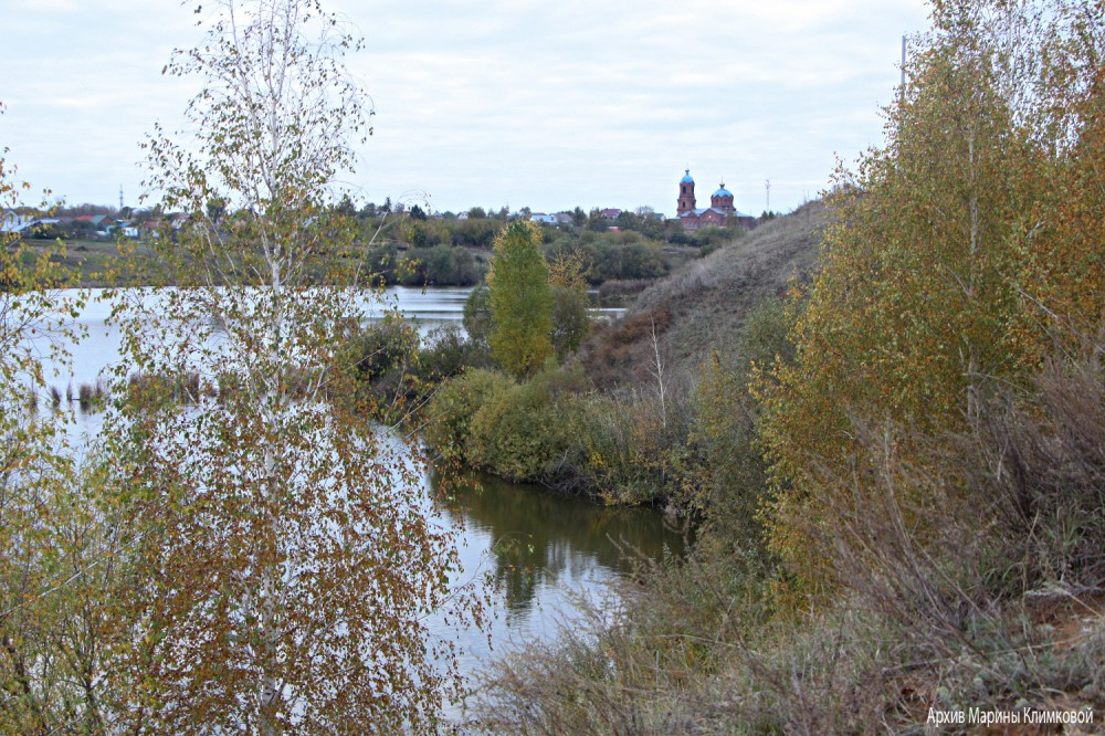 Село Пушкари Тамбовского района. Фото 5 октября 2021 года