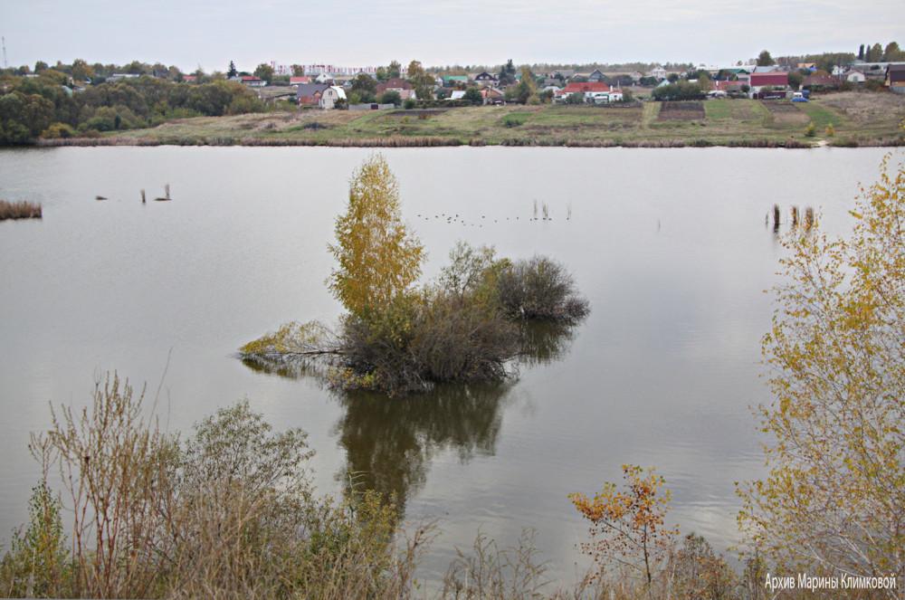 На реке Большой Липовице. Фото 5 октября 2021 года