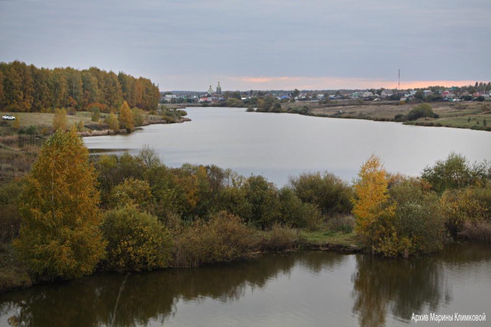 Река Большая Липовица. Фото 5 октября 2021 года