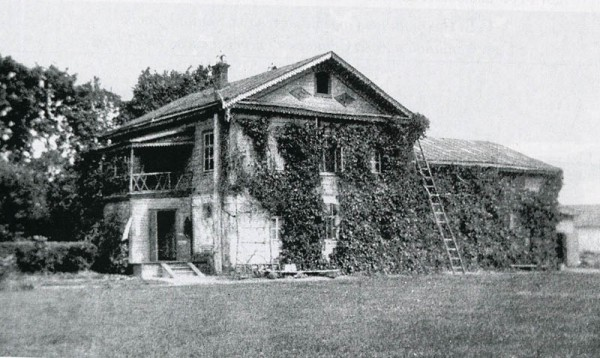 Флигель в Ивановке. Фото 1917 г.