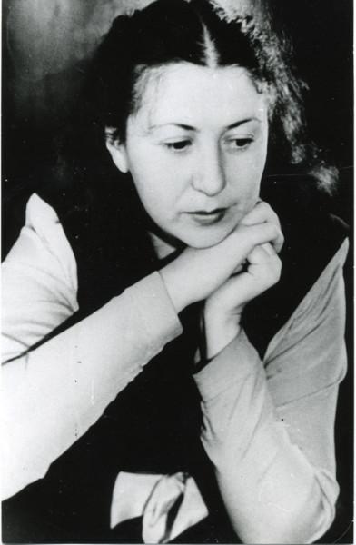 Симона Густавовна Ландау. Омск, 1945 г.