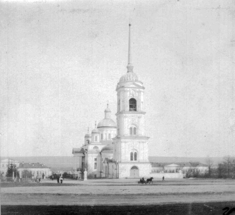Спасский кафедральный собор.В память ночного изгонету. Пенза. 1905