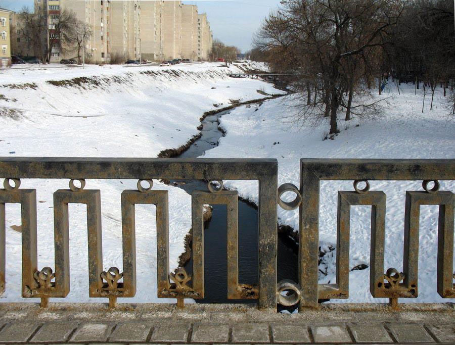 Вид с Державинского моста на Студенец