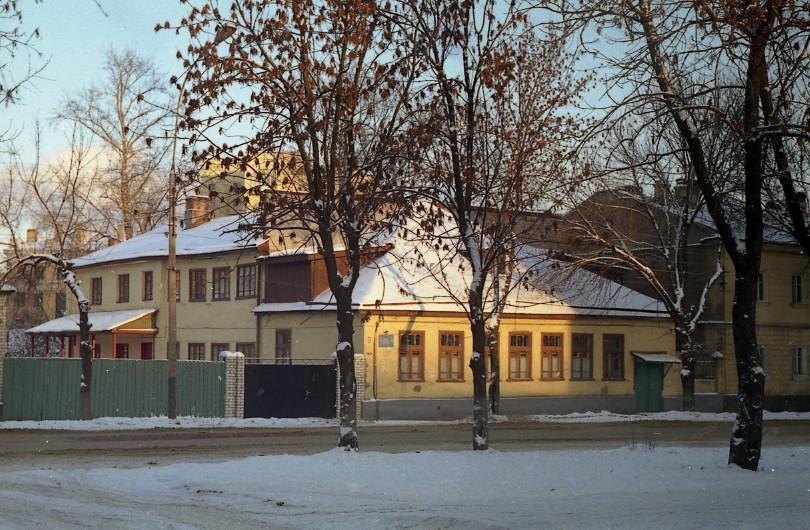 Дом Михаила Андреевич Боратынского в Тамбове. Фото 2000 г.