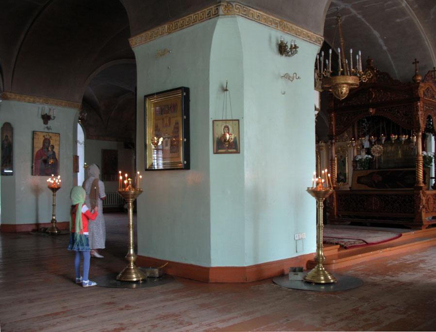 Никольский придел Спасо-Преображенского собора в Тамбове. Фото 2012 г.