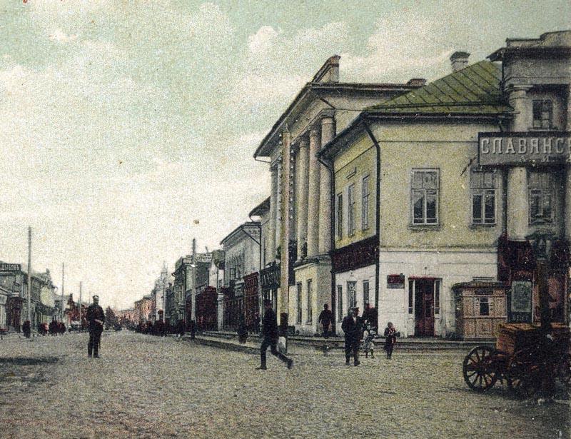 Дом Можарова в Тамбове. Фото начала XX в.